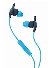 Skullcandy Grey & Blue XTPlyo Earbuds with Mic