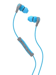 Skullcandy Blue Method Earbuds with Remote & Mic