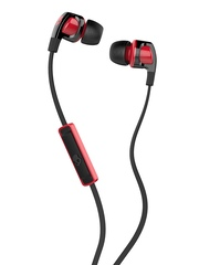 Skullcandy Black Smokin' 2 Earbuds with Mic