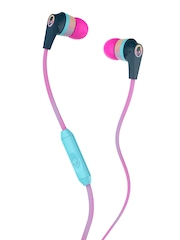 Skullcandy Pink Inkd 2.0 Earbuds with Mic