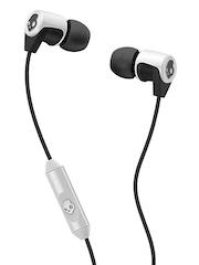 Skullcandy Black Riff In-Ear Headphones with Mic