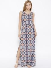 Vero Moda Multicoloured Printed Maxi Dress