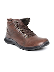 Woodland ProPlanet Men Brown Leather Casual Shoes
