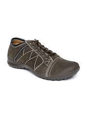 Woodland ProPlanet Men Coffee Brown Leather Casual Shoes