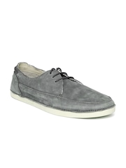 Woodland ProPlanet Men Grey Leather Casual Shoes