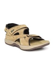 Woodland ProPlanet Men Olive Brown Leather Sandals