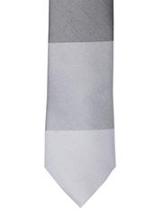 V Dot Grey Tie