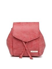 Mast & Harbour Red Backpack cum Sling Bag