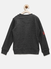 YK Boys Charcoal Grey Sweatshirt