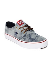 DC Men Blue Washed Trase Casual Shoes