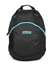 AMERICAN TOURISTER Unisex Black Flint Backpack
