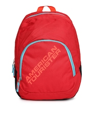 AMERICAN TOURISTER Unisex Red Jasper Backpack