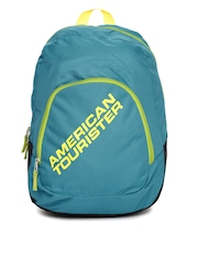 AMERICAN TOURISTER Unisex Blue Jasper Backpack