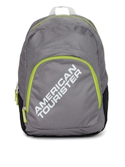 AMERICAN TOURISTER Unisex Grey Jasper Backpack