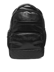 F Gear Unisex Black Luxur Laptop Backpack