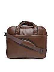 F Gear Unisex Brown Laptop Bag