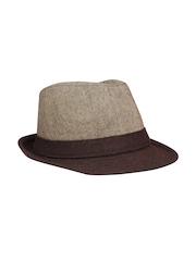 FabSeasons Unisex Brown Fedora Hat