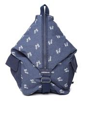 Adidas NEO Men ST BP Navy Graphic Print Backpack