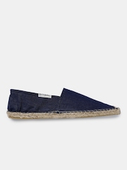 Mast & Harbour Men Blue Denim Espadrilles