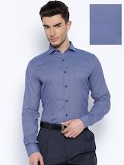 Mark Taylor Blue Slim Fit Formal Shirt