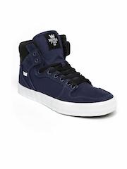 Supra Men Navy Vader Sneakers