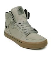 Supra Men Grey Vaider Sneakers