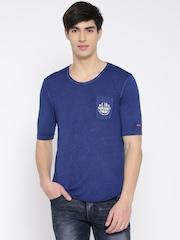 Being Human Clothing Blue T-shirt