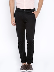 Being Human Clothing Black Chino Trousers