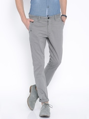 Being Human Clothing Grey Chino Trousers