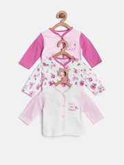 mothercare Girls Pack of 3 Assorted Jhablas