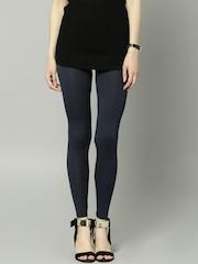 Marks & Spencer Navy Ankle-Length Leggings
