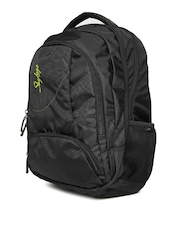 Skybags Unisex Black Footloose Gizmo 3 Laptop Backpack