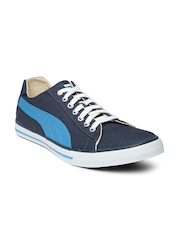 PUMA Men Blue Hip Hop 5 Sneakers