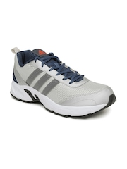 Adidas Men Silver-Toned Albis 1.0 Running Shoes