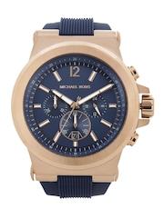 Michael Kors Men Navy Dial Chronograph Watch MK8295