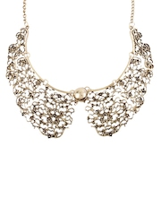 Shining Diva Gold-Toned Collar Necklace