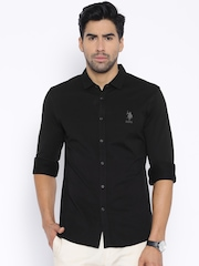 U.S. Polo Assn. Black Casual Shirt