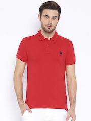 U.S. Polo Assn. Red Polo T-shirt