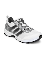 Adidas Men White & Grey Alcor 1.0 Running Shoes