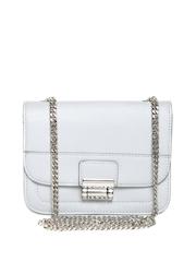 MANGO Grey Textured Sling Bag