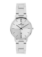 Daniel Klein Slim Men Steel-Toned Dial Watch with Interchangeable Strap DK11112-1