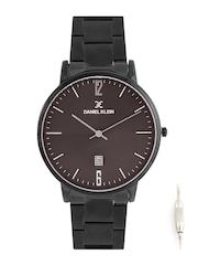 Daniel Klein Slim Men Brown Dial Watch with Interchangeable Strap DK11112-7