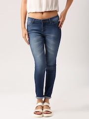 All About You from Deepika Padukone Blue Washed Skinny Fit Jeans
