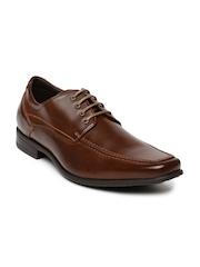 Bata Men Brown Semiformal Shoes
