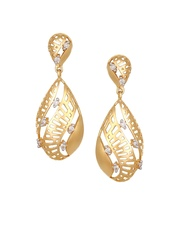 Mia by Tanishq 3.36 g 14-Karat Gold Precious Earrings with Diamonds