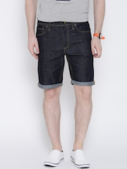 Jack & Jones Navy Denim Shorts