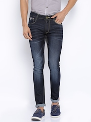 John Players Navy Super Skinny Fit Jeans