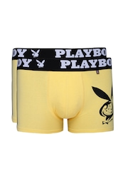 Playboy Pack of 2 Yellow Trunks UF25