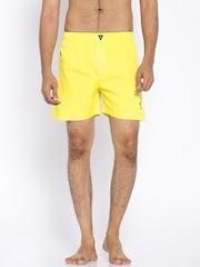 Playboy Yellow Boxers LW17
