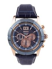SEIKO Men Blue Chronograph Dial Watch SPC158P1